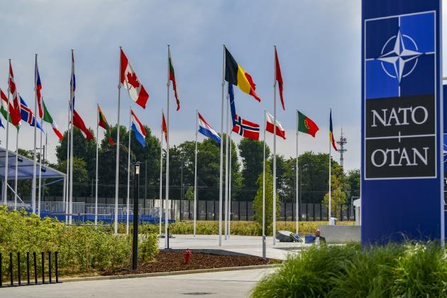 Flags of NATO countries