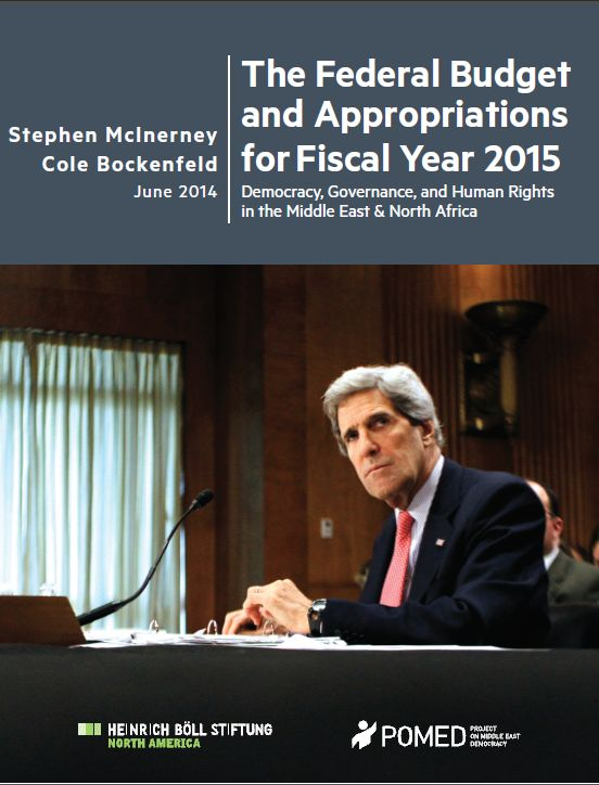 The Federal Budget and Appropriations for Fiscal Year 2015: Democracy, Governance, and Human Rights in the Middle East and North Africa