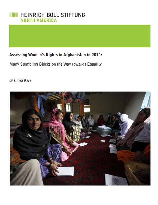 Assessing Women's Rights in Afghanistan in 2014: Many Stumbling Blocks on the Way towards Equality