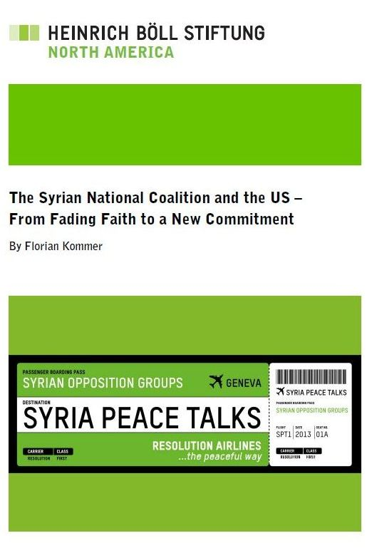 The Syrian National Coalition and the US – From Fading Faith to a New Commitment