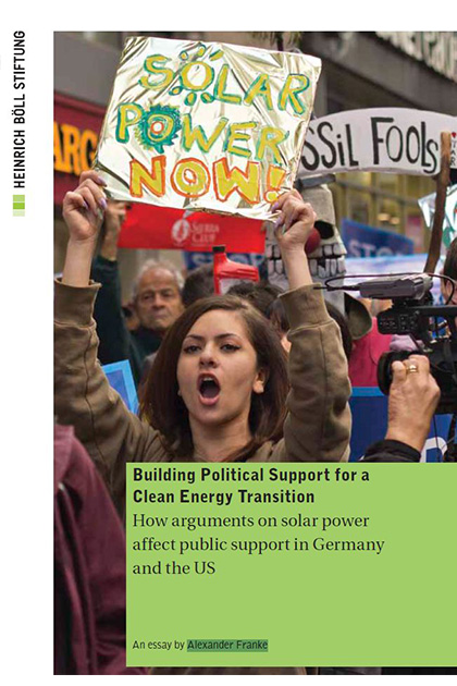 Building Political Support For A Clean Energy Transition